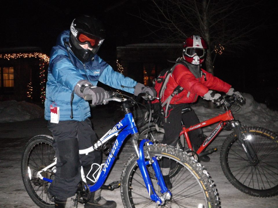 Snow Biking And Modifying Your Ride