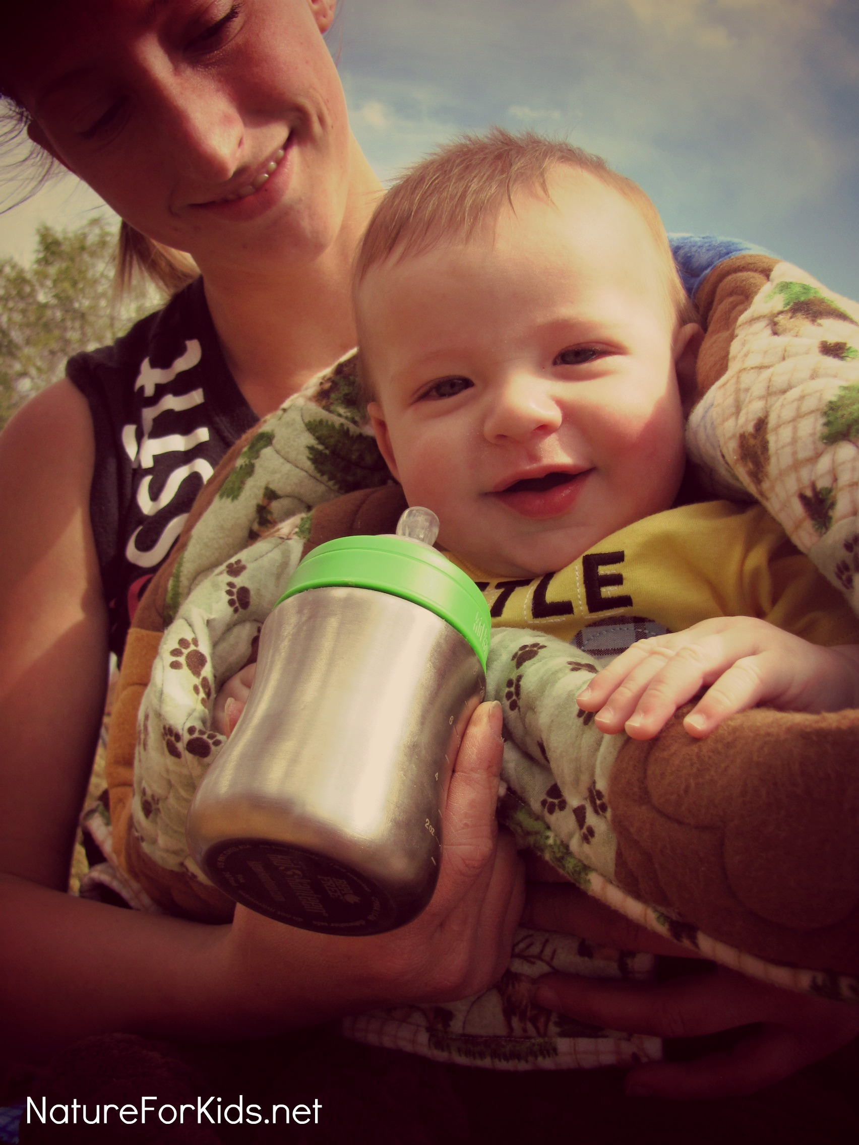 Kid Kanteen Baby Bottle Review And Mothers Day Giveaway