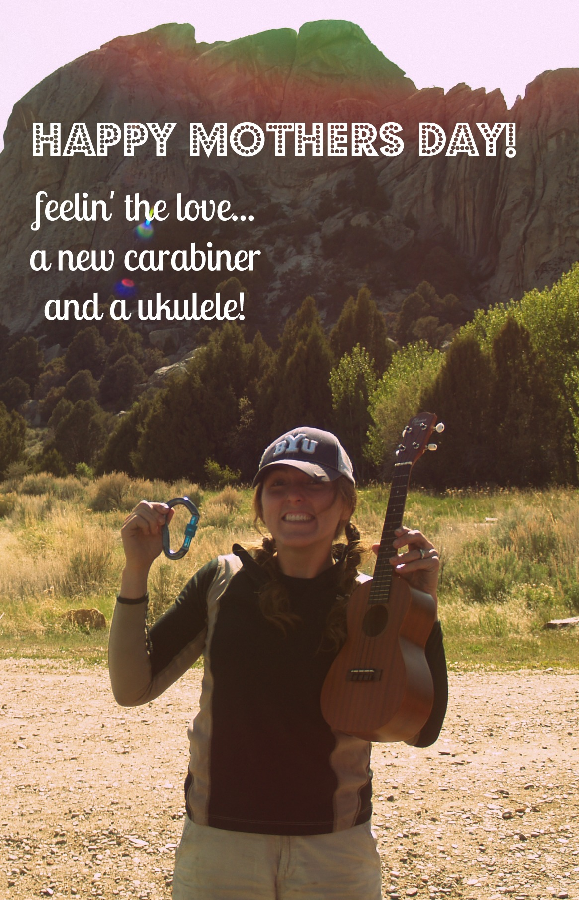 A Uke, A Biner And A Whole Lotta Love