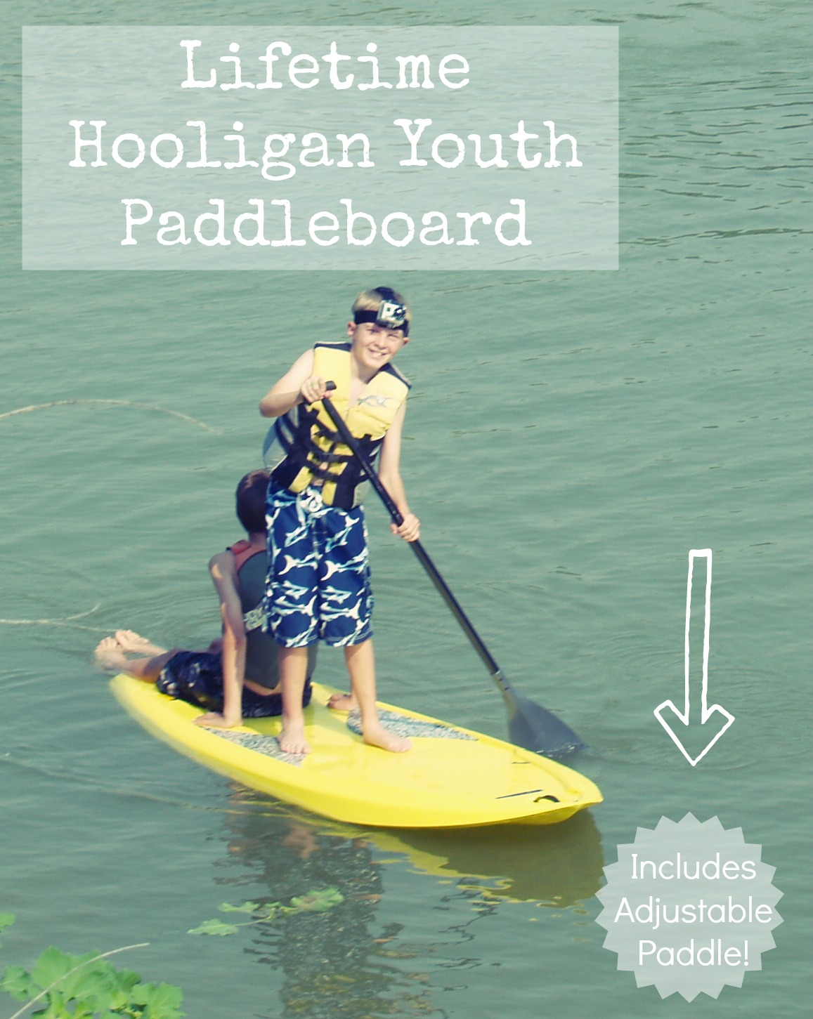 Youth Paddleboard GIVEAWAY From Lifetime
