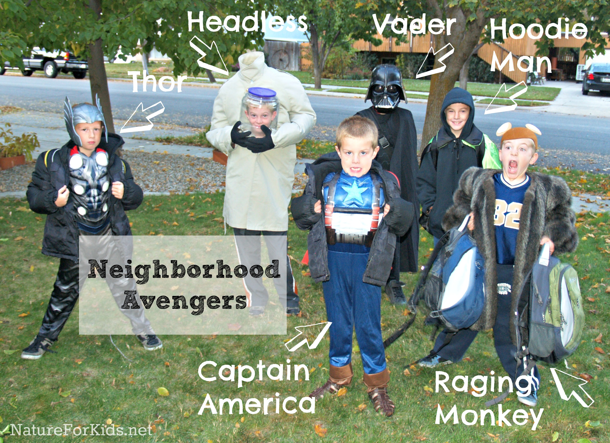 Have ...  sc 1 st  Nature For Kids & DIY Headless Halloween Costume Using Backpack | Nature For Kids