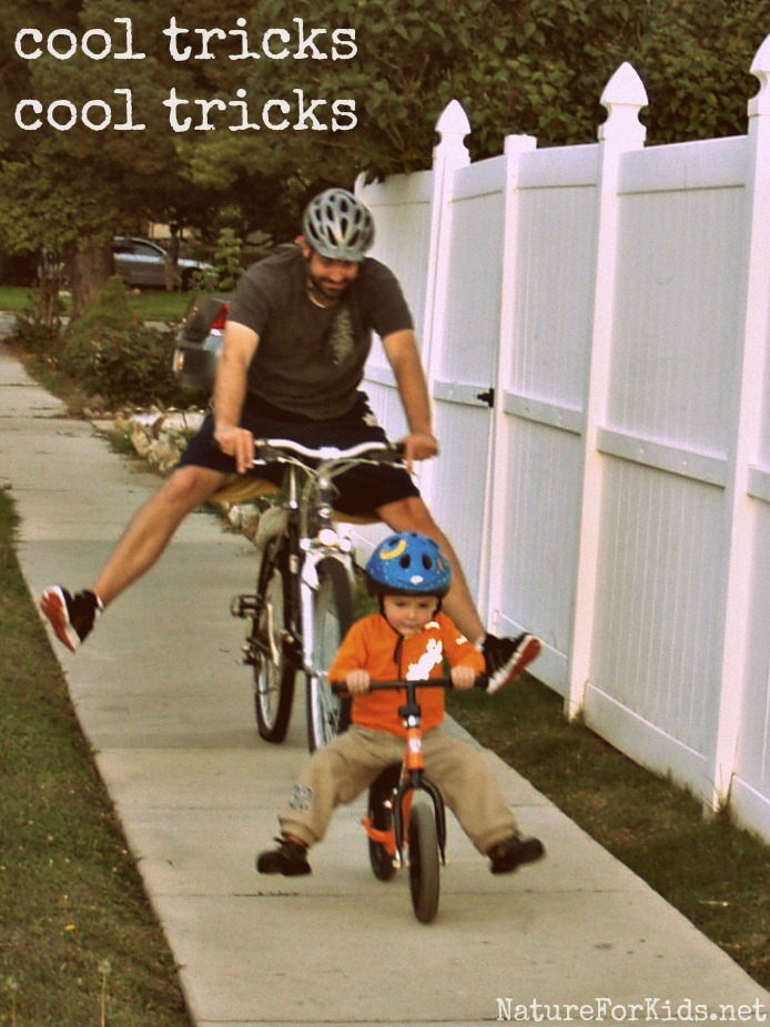 Bike Tricks For Kids We are a bike family