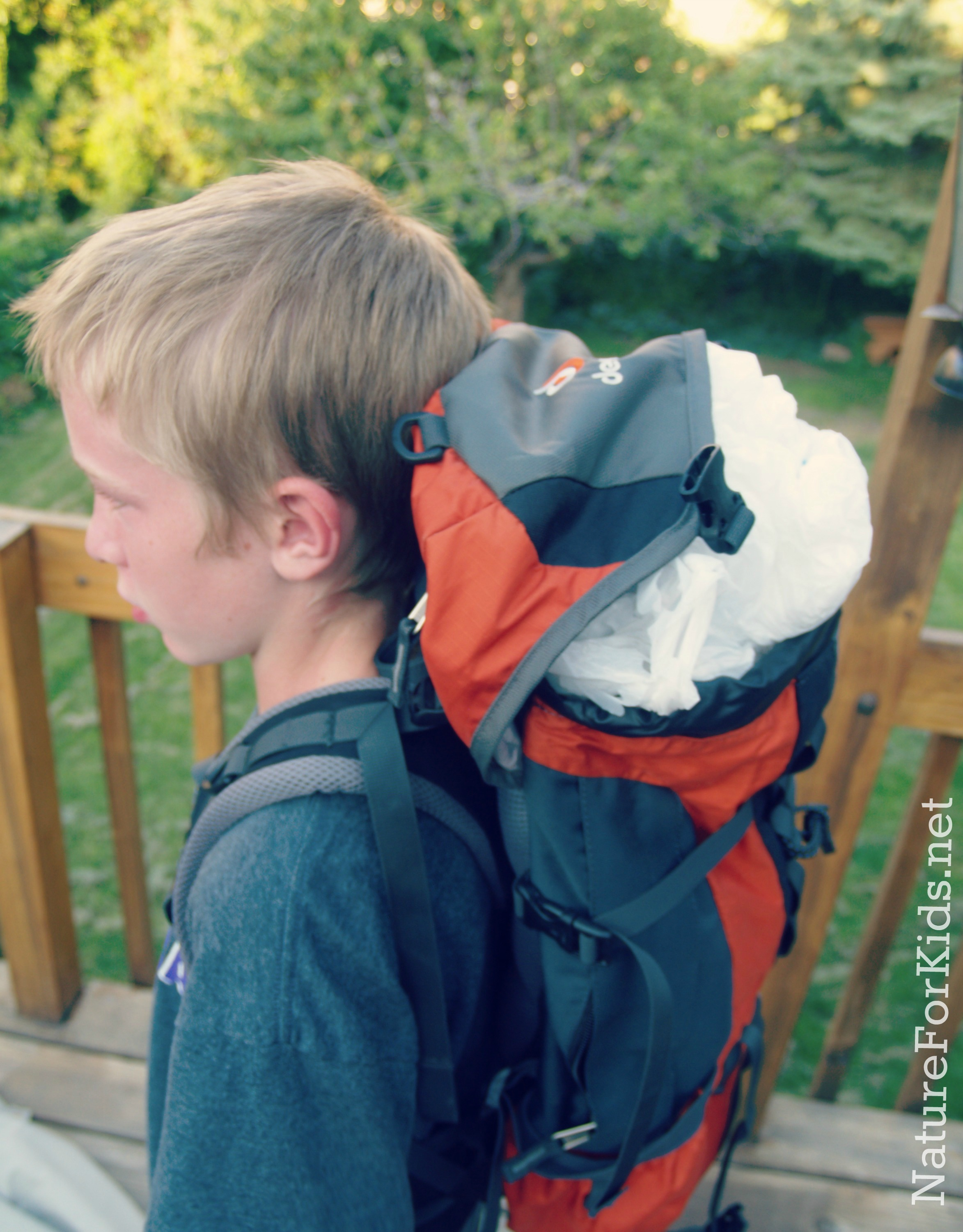 Diy Headless Halloween Costume Using Backpack Nature For