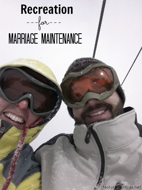recreation for marriage maintenance