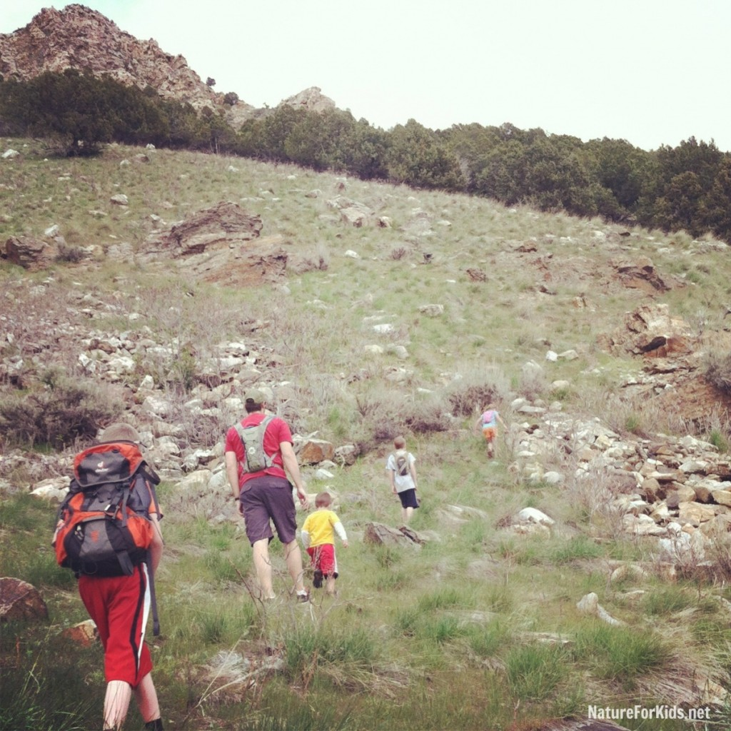 hiking for kids