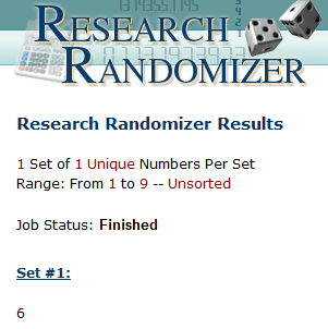 randomizer winner