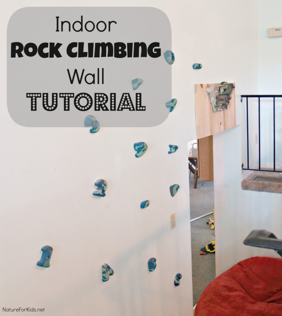 indoor rock climbing wall tutorial