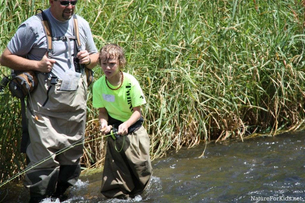 How to get kids hooked on fly fishing nature for kids for Fly fishing classes near me