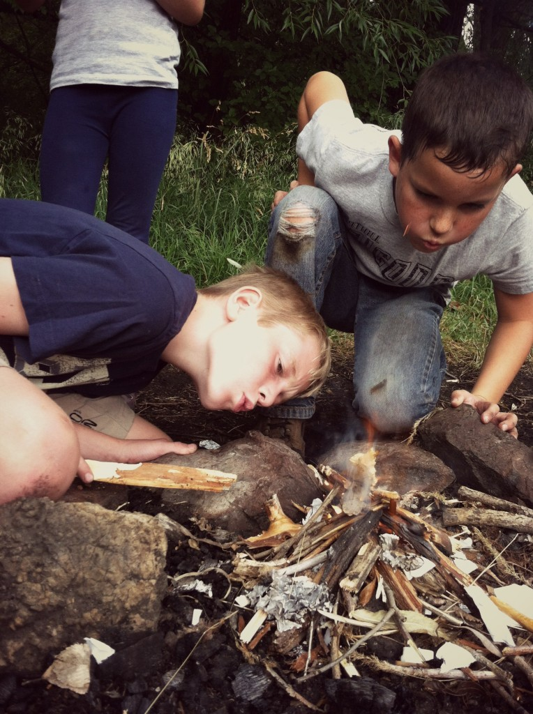 Fire Starting Nature For Kids