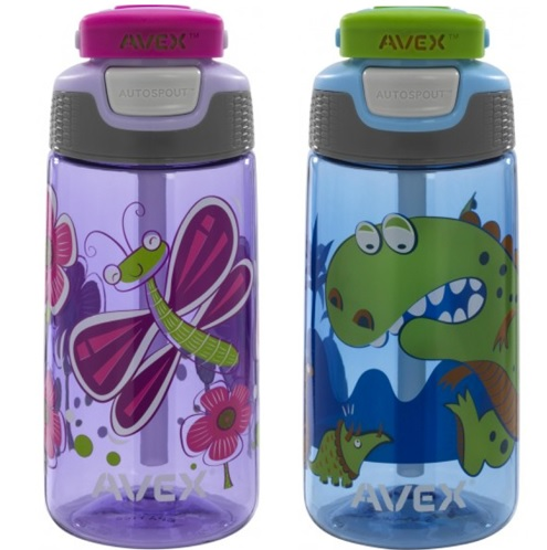 Avex kids water bottles