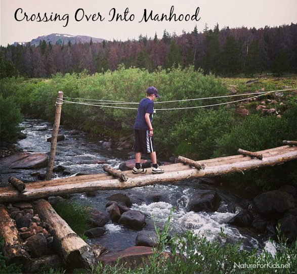 crossing over into manhood