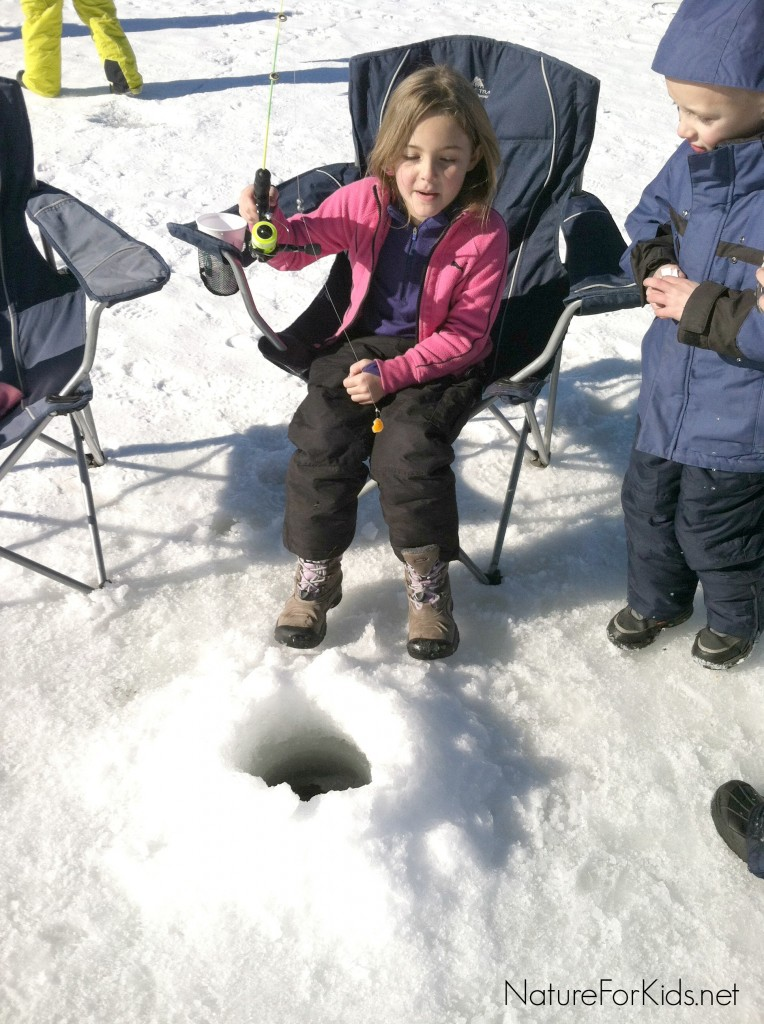 Ice fishing with kids nature for kids for How to ice fish