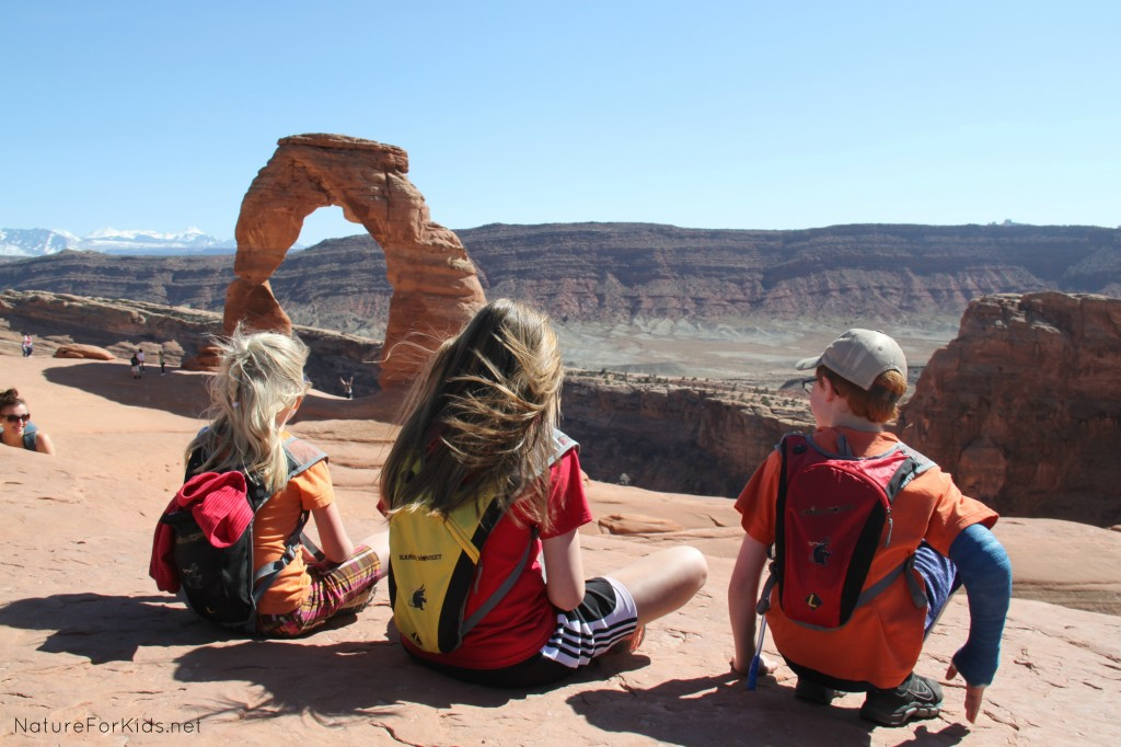 Moab kids hike 5