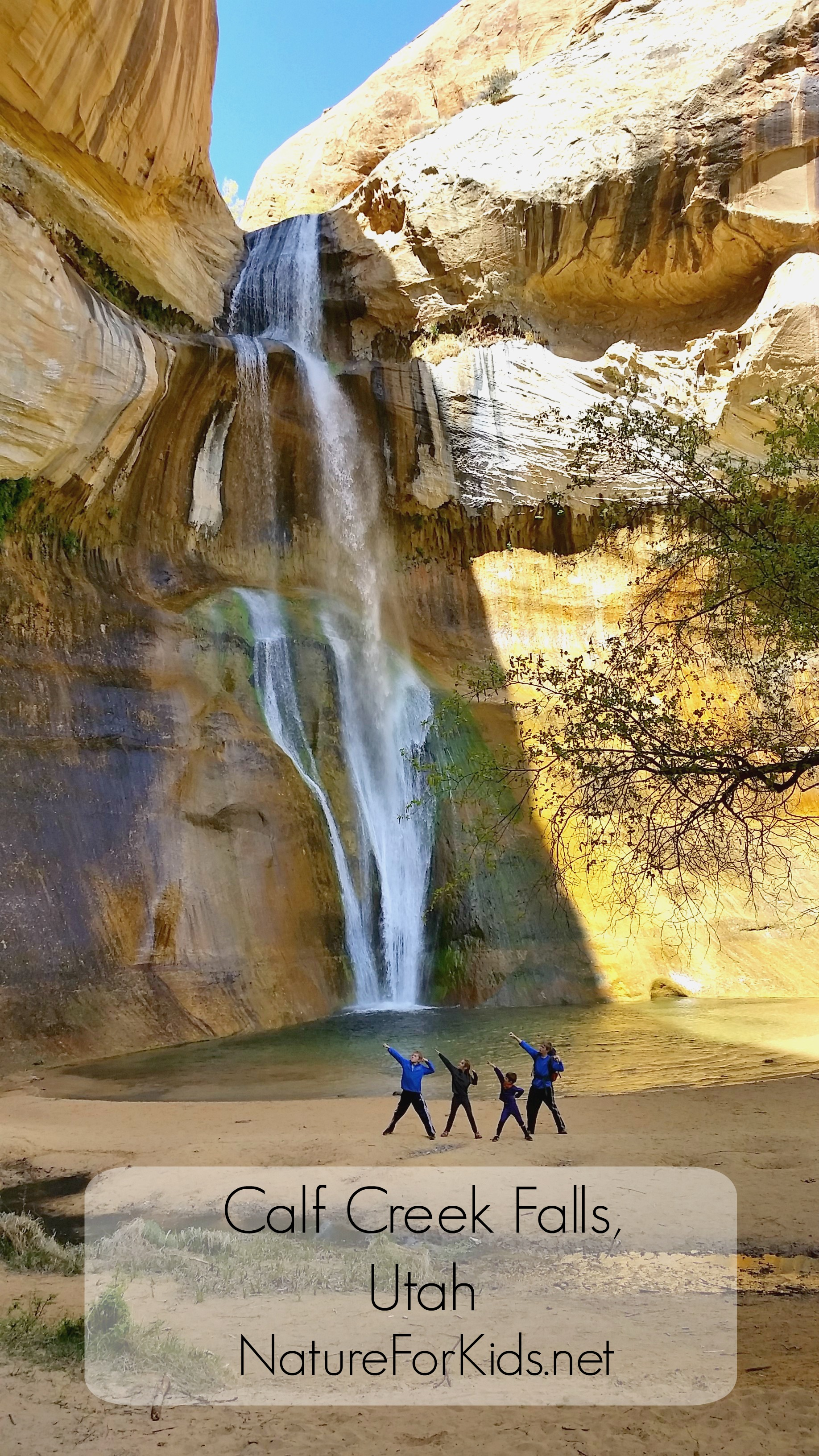 Destination Calf Creek Falls, Utah