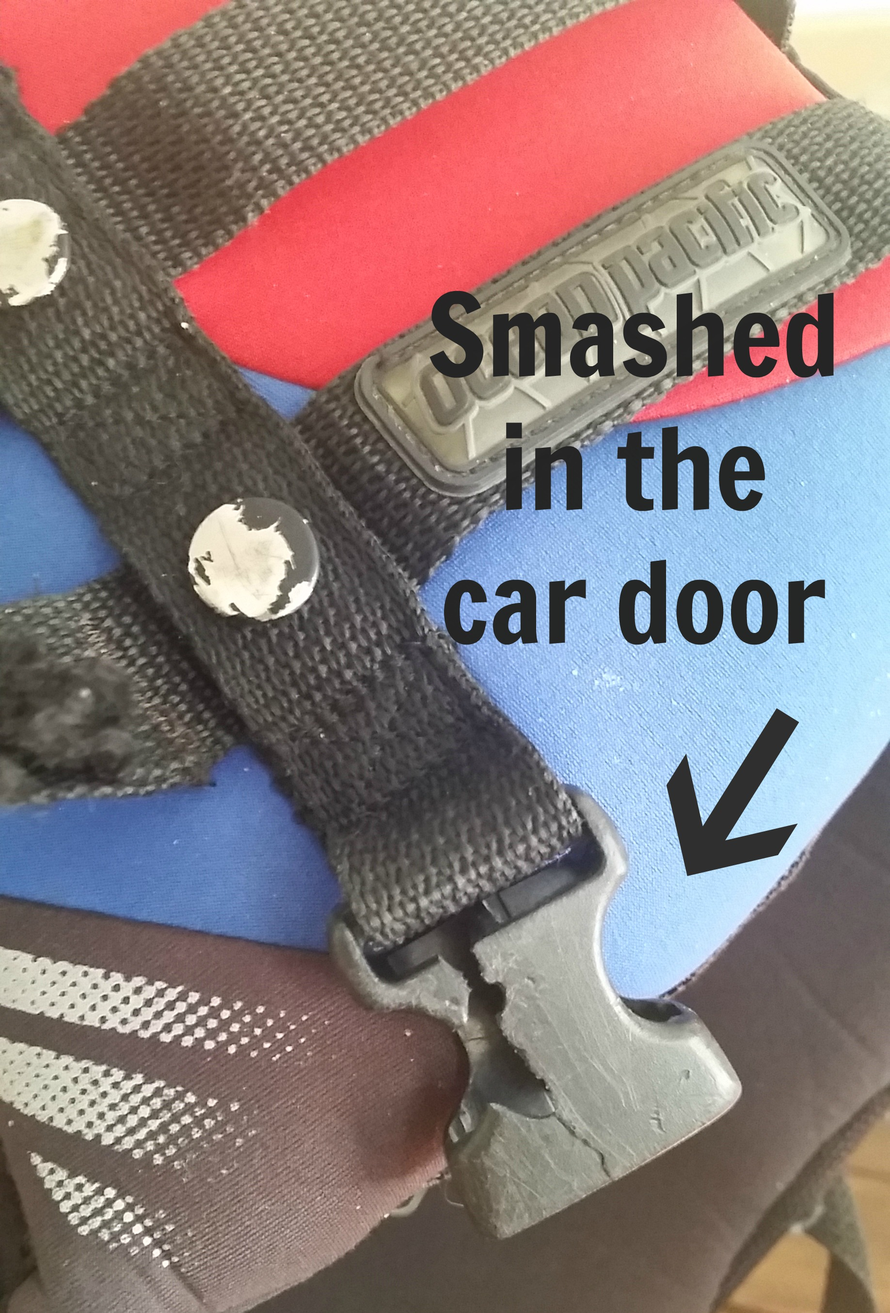 broken buckle smashed in car door & Outdoor Gear Repair \u2013 Make It Do or Do Without | Nature For Kids