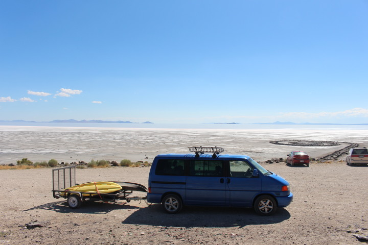 spiral jetty directions