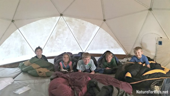 camp dome glamping