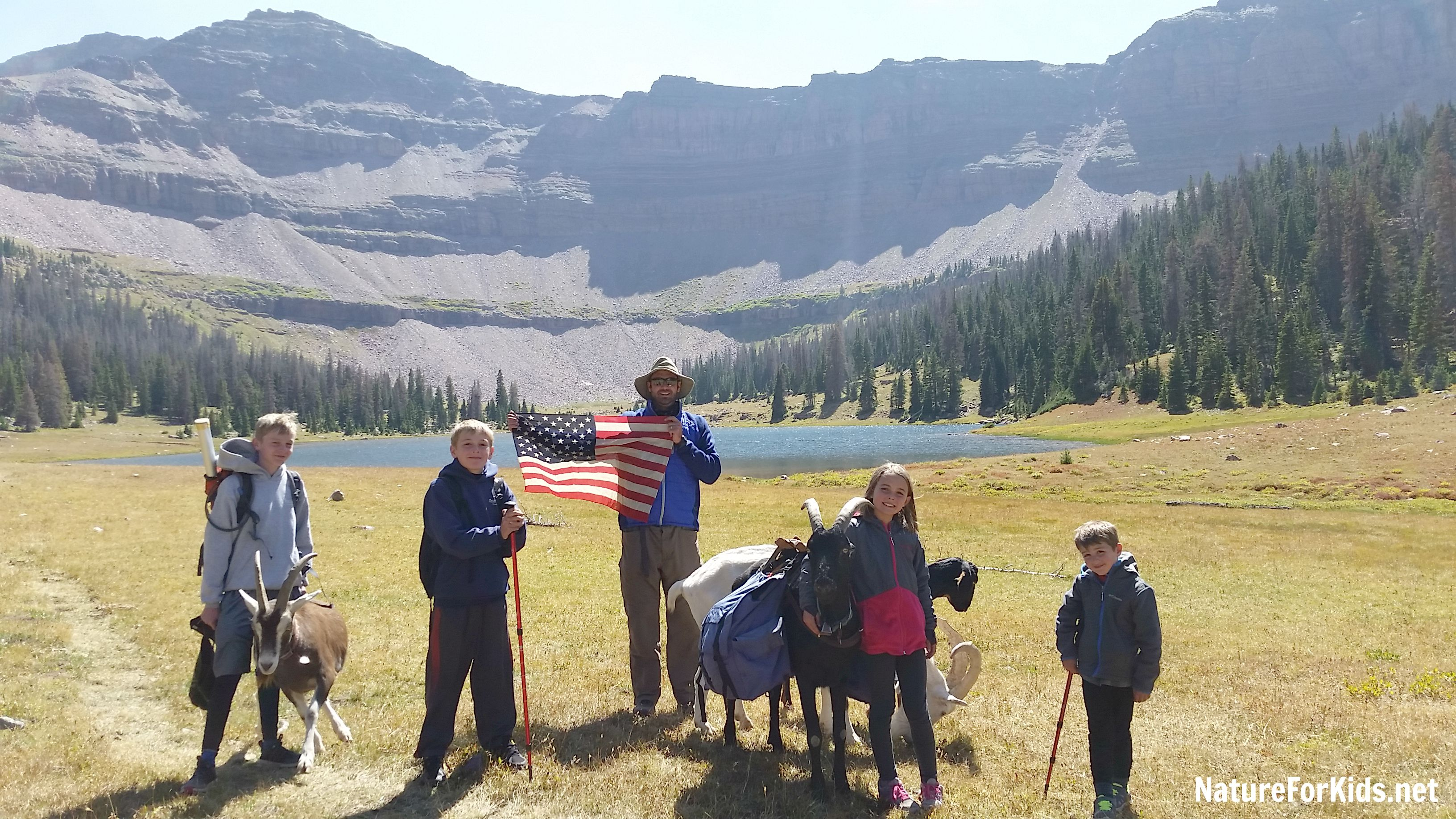Backpacking With Kids Made Easy Thanks To Pack Goats