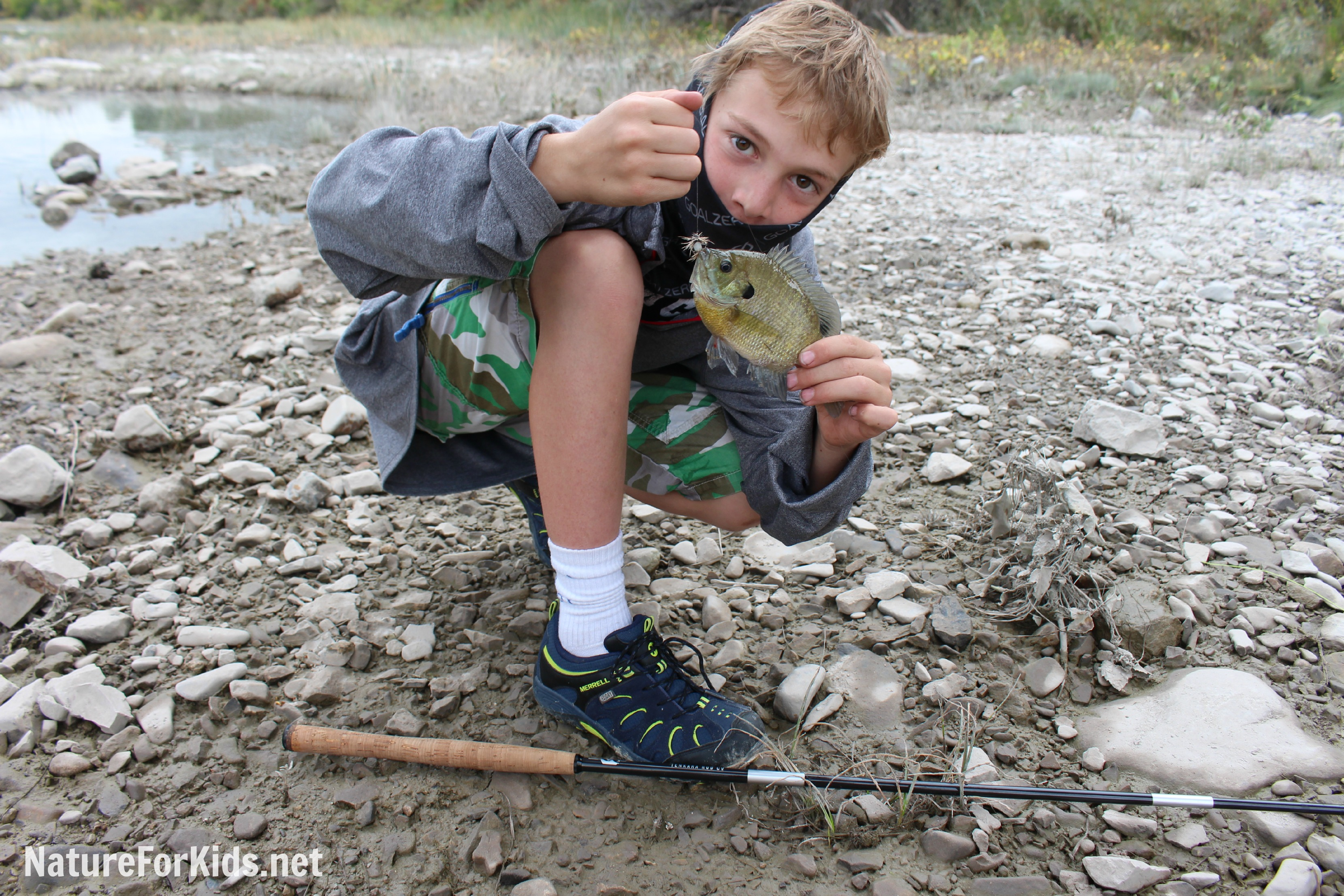 Comfort communication and catching fish nature for kids for Kids fishing net