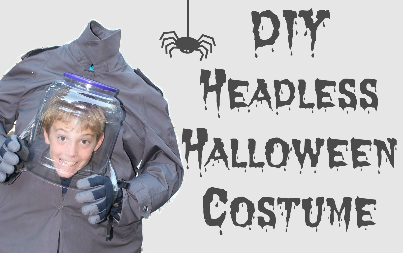 Headless Halloween Costume Video Tutorial