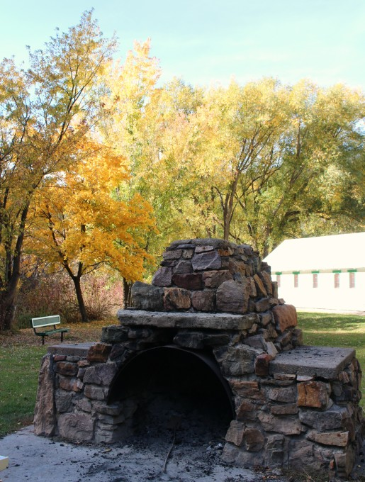 hyrum city park utah fireplace