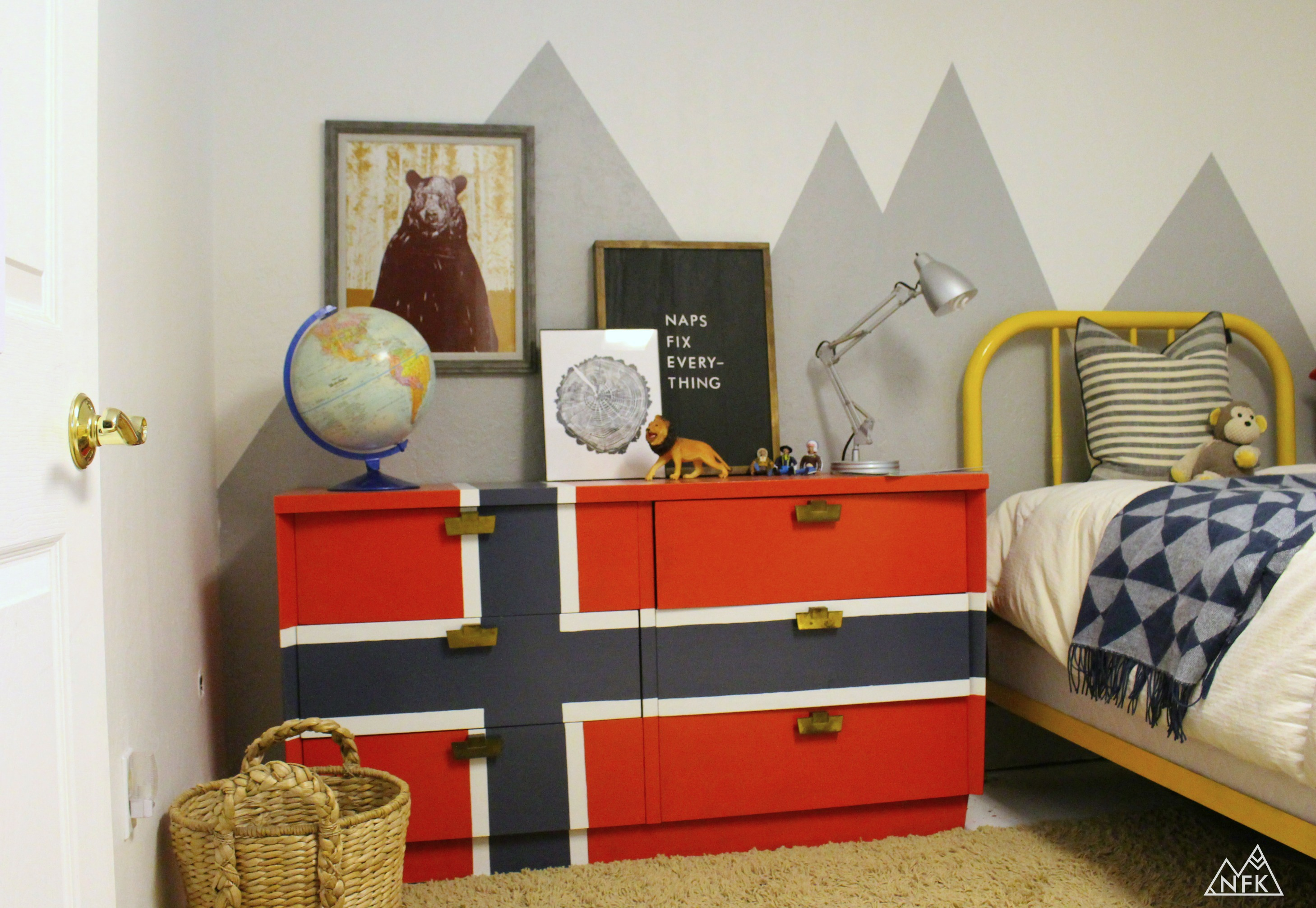 Decorate An Outdoor Inspired Kids Room