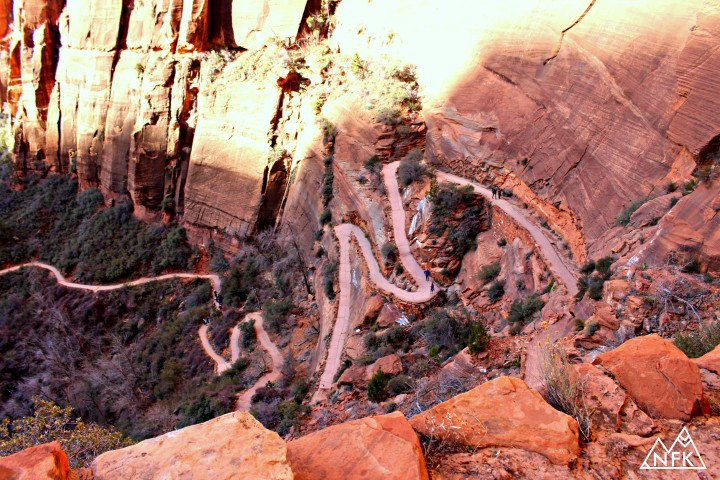 switchbacks angels landing hike