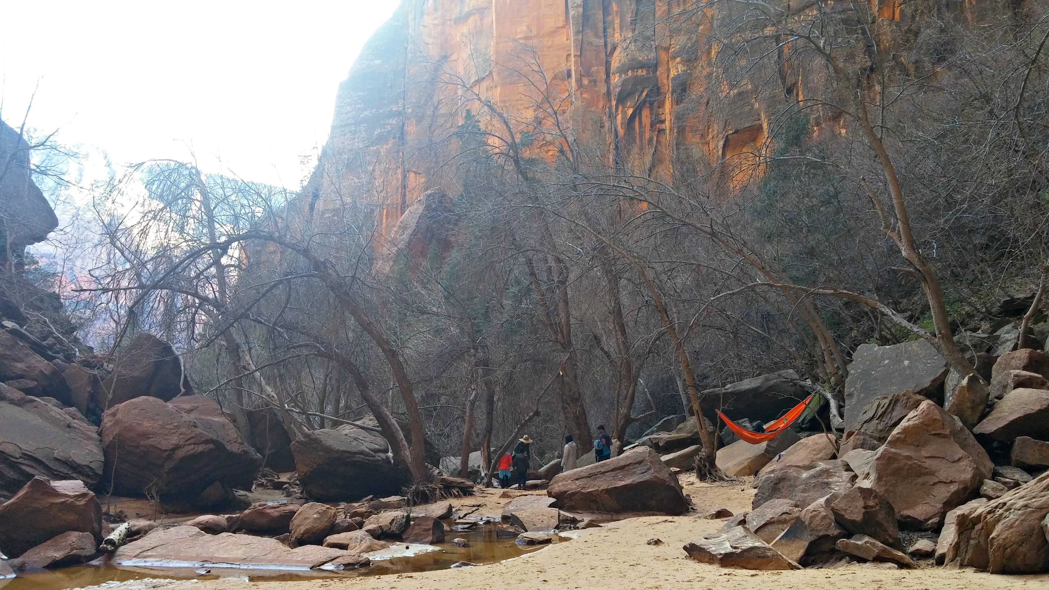 Hiking Emerald Pool Trail In Zion National Park