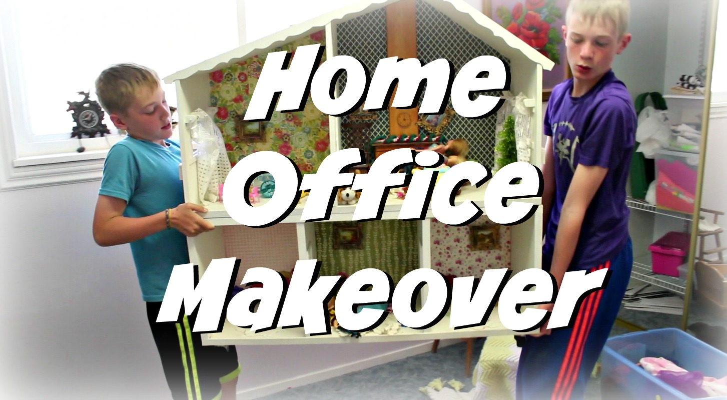 Home Office Makeover – The Before And After