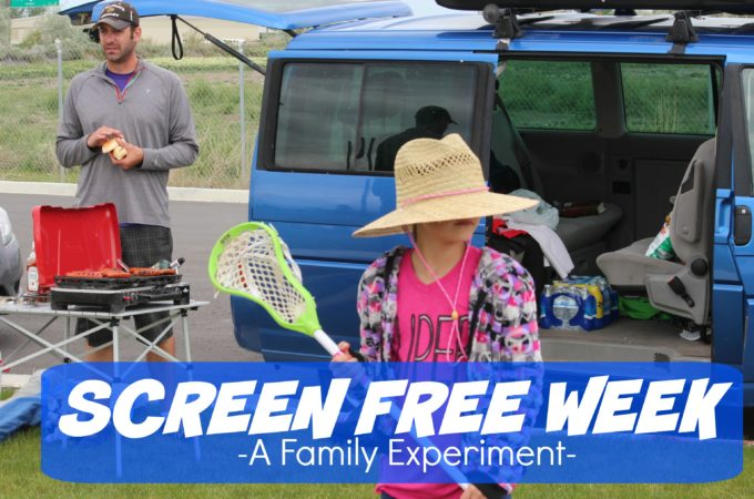 Screen Free Week – A Family Experiment
