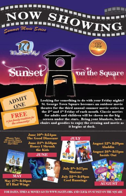 movie in town square