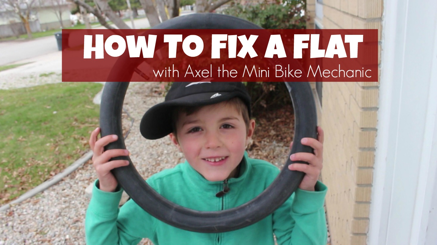 how to fix a bike tire